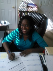 Signing my contract